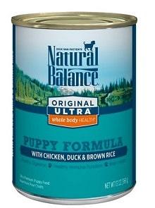 Natural Balance Original Boxer Puppy Wet Dog Food